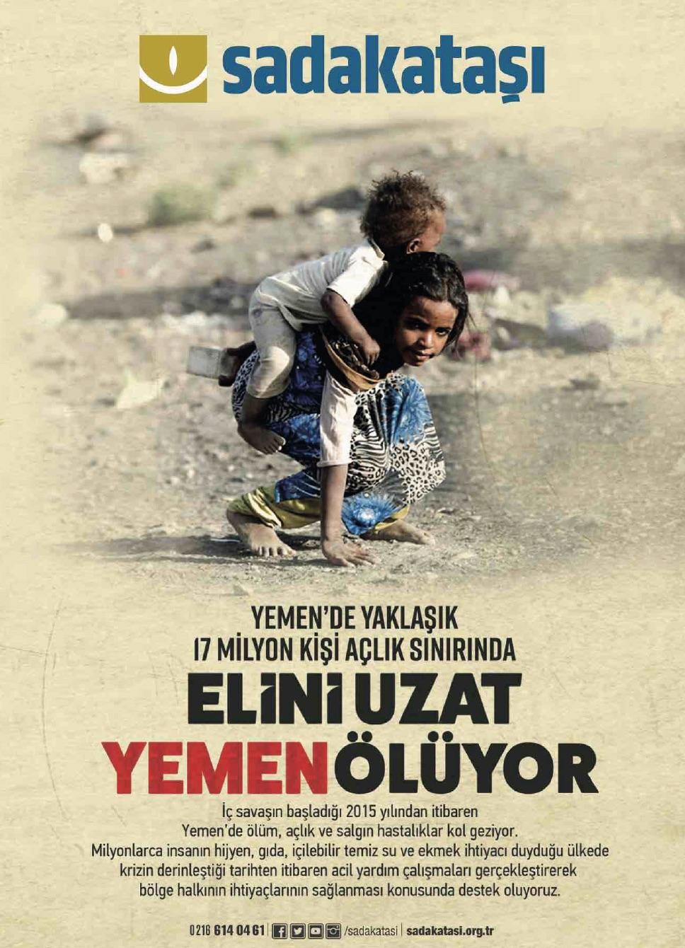 Elini Uzat Yemen Ölüyor