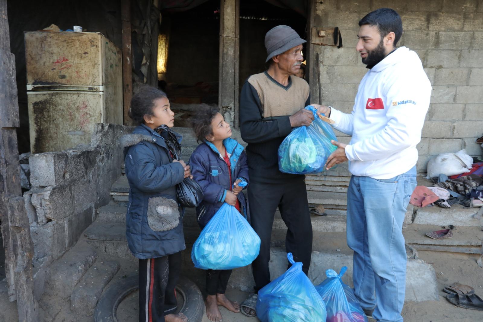 Gazze'ye gıda yardımı