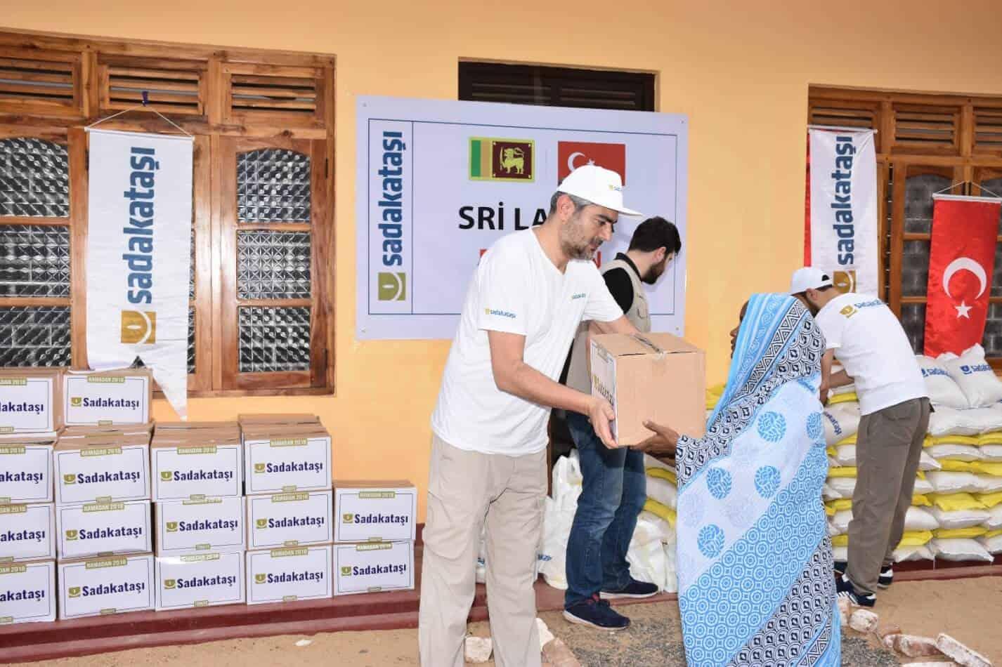 Türkiye Ramazan yardımları devam ediyor