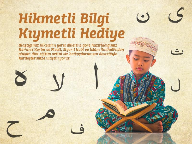 Dini Bilgiler Eğitim Seti Projesi