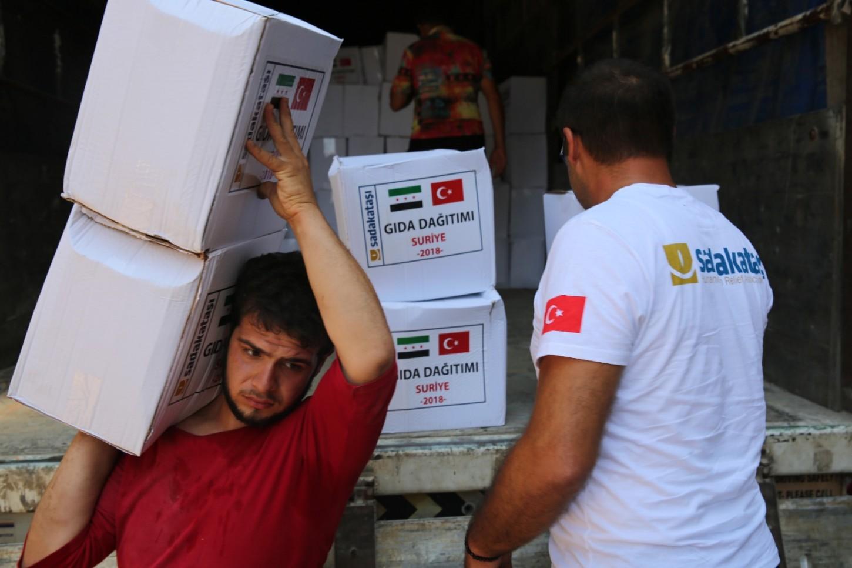 Suriye gıda yardımı