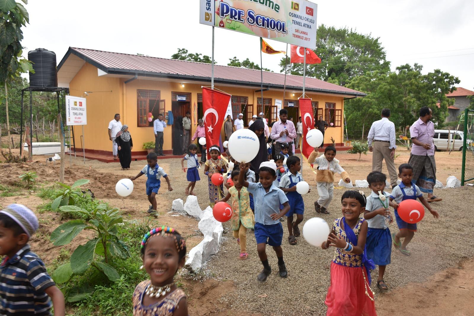 Sri Lanka'ya 'Osmanlı Okulu' açıldı