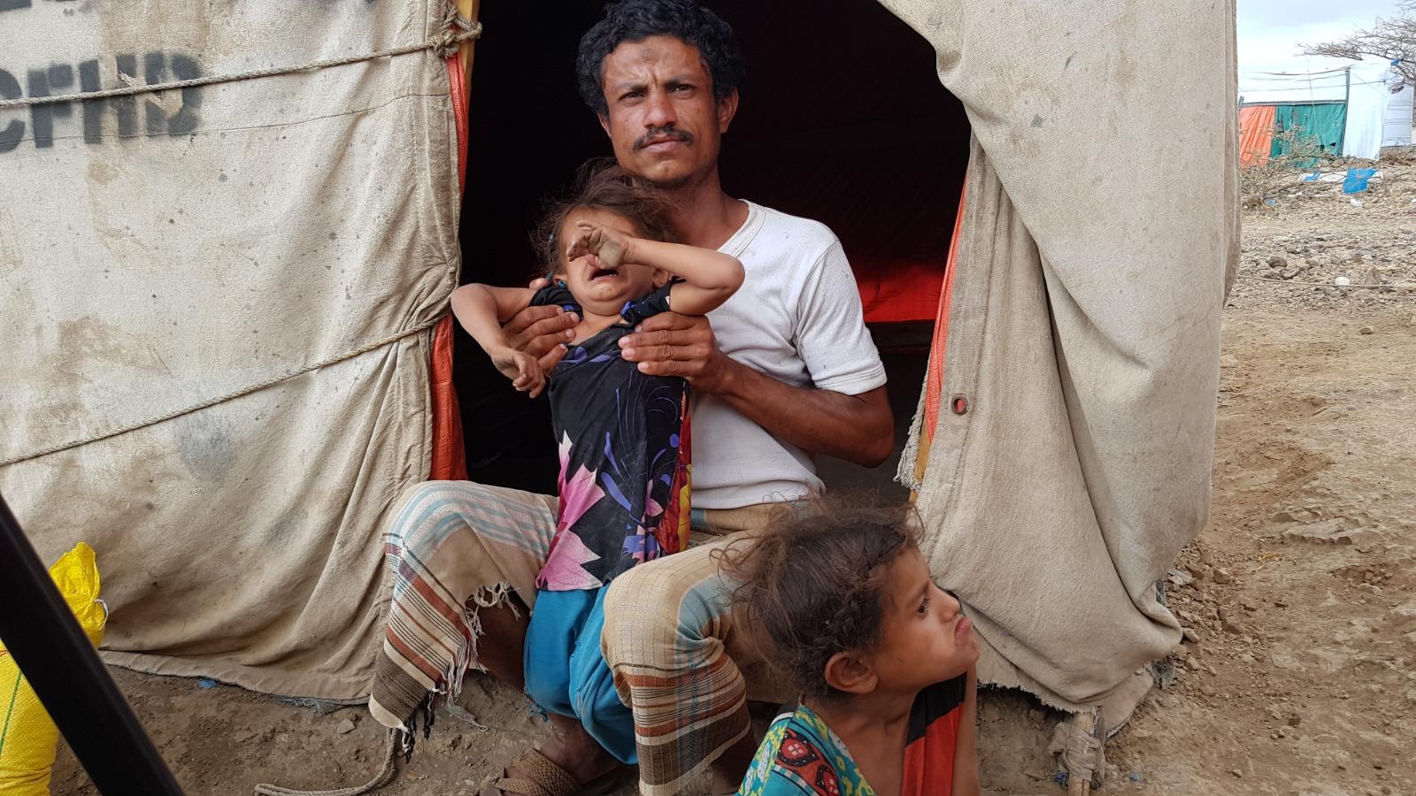 Yemenli Murşid ailesine insani yardım
