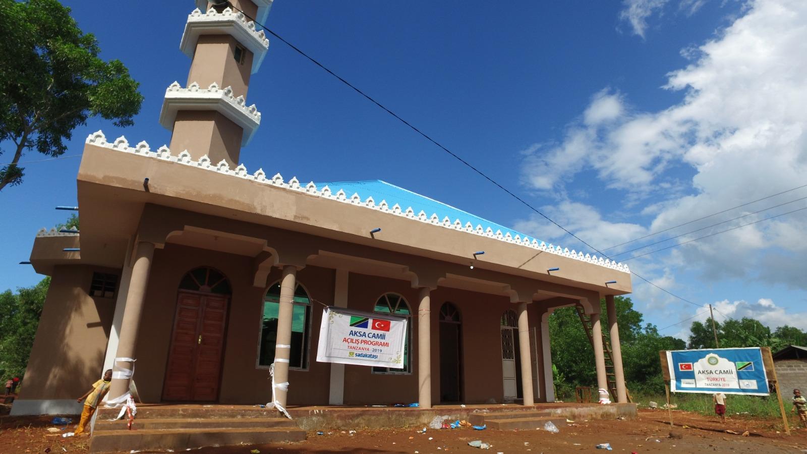 Tanzanya'ya Aksa Camii'si