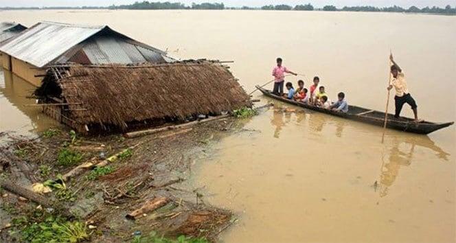 Bangladeş'te Muson Felaketi