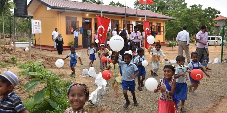 Sri Lanka'ya 'Osmanlı Okulu'