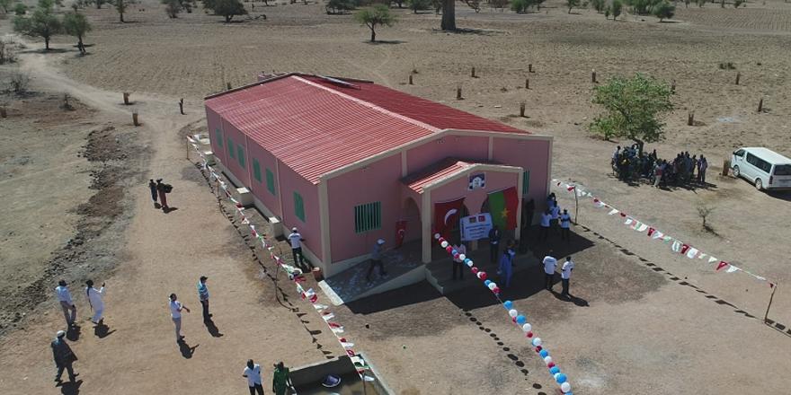 Burkina Faso'ya Sağlık Merkezi