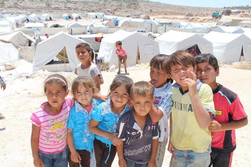 Suriye İdlib Şehrinde Bulunan Çadır Kentimiz Faaliyete Geçti