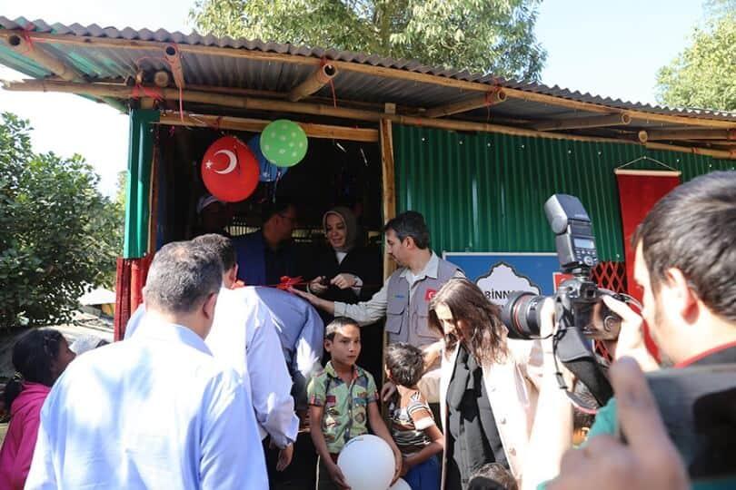 Arakanlı Mülteciler İçin 3 Okul Hizmete Açıldı